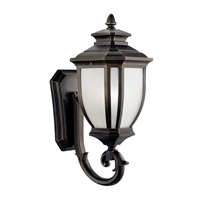 Picture for category Wall Sconces 1 Light With Rubbed Bronze Finish Medium Base Bulb 8 inch 100 Watts