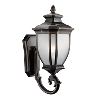 Picture for category Wall Sconces 1 Light With Rubbed Bronze Finish Medium Base Bulb 10 inch 150 Watts