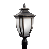 Picture for category Outdoor Post 1 Light With Rubbed Bronze Finish Medium Base Bulb 10 inch 150 Watts