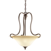 Picture for category Pendants 2 Light With Olde Bronze Tone Finish Medium Base Bulb 19 inch 300 Watts