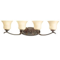 Picture for category Bathroom Vanity 4 Light With Olde Bronze Finish Medium Base Bulb 32 inch 400 Watts
