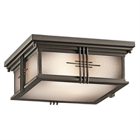 Picture for category Outdoor Wall Sconces 2 Light With Olde Bronze Finish Medium Bulb 12 inch 120 Watts