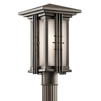 Picture for category Outdoor Post 1 Light With Olde Bronze Finished Medium Base Bulb 9 inch 100 Watts