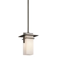 Picture for category Outdoor Pendant 1 Light With Olde Bronze Finish Medium Base Bulb 6 inch 100 Watts