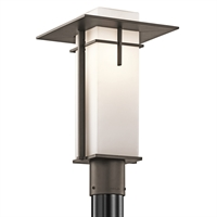 Picture for category Outdoor Post 1 Light With Olde Bronze Finish Medium Base Bulb 10 inch 100 Watts