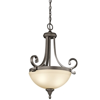 Picture for category Pendants 2 Light With Olde Bronze Tone Finish Medium Base Bulb 18 inch 200 Watts