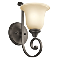 Picture for category RLA Kichler RL-65488 Bath Lighting Olde Bronze Monroe