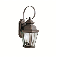 Picture for category Wall Sconces 2 Light With Olde Bronze Finish Candelabra Base Bulb 10 inch 120 Watts