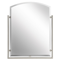 Picture for category RLA Kichler RL-66235 Mirrors Brushed Nickel Glass Structures