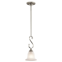 Picture for category RLA Kichler RL-66291 Mini Pendants Brushed Nickel Monroe