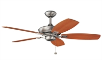 Picture for category RLA Kichler RL-66468 Indoor Ceiling Fans Brushed Nickel Canfield