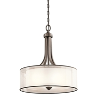 "Picture for category Pendants 4 Light Fixtures With Mission Bronze Finish Medium Bulb Type 20"" 400 Watts"