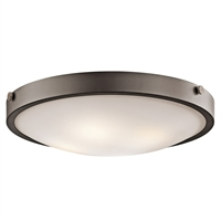 "Picture for category Flush Mounts 4 Light Fixtures With Olde Bronze Finish Medium Bulb Type 21"" 240 Watts"