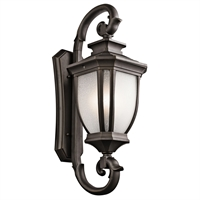 Picture for category Wall Sconces 4 Light With Rubbed Bronze Finish Candelabra Bulb 15 inch 240 Watts