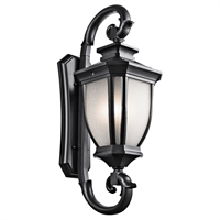Picture for category Wall Sconces 4 Light With Black Finished Candelabra Base Bulb 15 inch 240 Watts