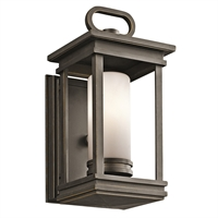 "Picture for category Wall Sconces 1 Light Fixtures With Rubbed Bronze Finish Candelabra Bulb Type 6"" 60 Watts"