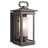"Picture for category Wall Sconces 1 Light Fixtures With Rubbed Bronze Finish Medium Bulb Type 9"" 100 Watts"