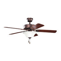 Picture for category RLA Kichler RL-95028 Indoor Ceiling Fans Oil Brushed Bronze Renew Select