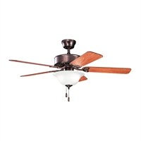 Picture for category RLA Kichler RL-95457 Indoor Ceiling Fans Oil Brushed Bronze Renew Select