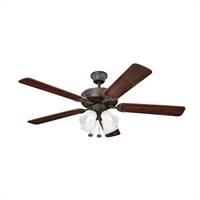 Picture for category RLA Kichler RL-95673 Indoor Ceiling Fans Satin Natural Bronze Basics Reisited