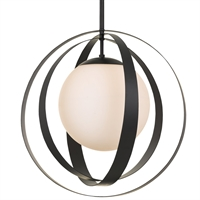 Picture for category Crystorama Lighting 6469-MK Chandeliers Matte Black Iron and Glass Arlo