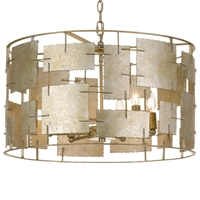 Picture for category Crystorama Lighting BRO-4866-OX Chandeliers Oxidized Siler Steel Bronson