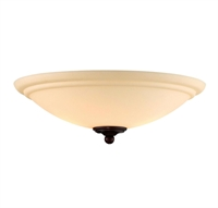 Picture for category Fan Light Kits 2 Light With Espresso Tone Finish G9 Bulb Type 14 inch 100 Watts