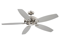 Picture for category Indoor Ceiling Fans With Polished Nickel Tone Finish Metal Polywood Material 52 inch