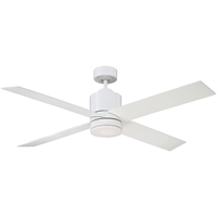 Picture for category Indoor Ceiling Fans With White Tone Finish Metal Glass Plywood Material 52 inch