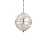 Picture for category Pendants 9 Light With Polished Chrome Finish Metal Material C Bulb 21 inch 540 Watts