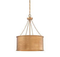 Picture for category Pendants 4 Light With Gold Patina Finished Incandescent Bulbs 19 inch 400 Watts