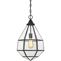 Picture for category Pendants 1 Light With English Bronze Finish Incandescent Bulbs 12 inch 100 Watts