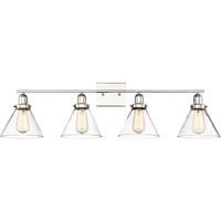 Picture for category Bathroom Vanity 4 Light With Polished Nickel Finished E Bulbs 39 inch 400 Watts