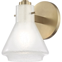 Picture for category Mitzi By Hudson Valley H129301-AGB Bath Lighting Aged Brass Metal Glass Rosie