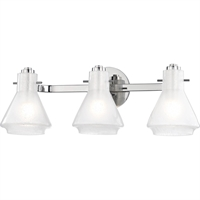 Picture for category Mitzi By Hudson Valley H129303-PN Bath Lighting Polished Nickel Metal Glass Rosie