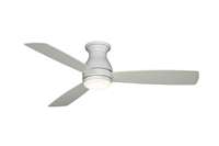 Picture for category Indoor Ceiling Fans 1 Light With Matte White Finish Connector Bulbs 44 inch 18 Watts