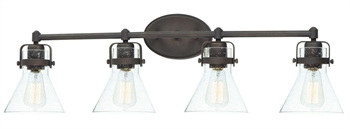 Picture of Maxim Lighting 26114CDOI Bath Lighting Oil Rubbed Bronze Steel and Glass Seafarer
