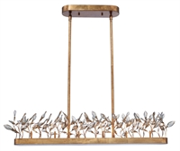 Picture for category Maxim Lighting 30447CGGL Island Lighting Gold Leaf Steel and K9 Crystal Crystal Garden
