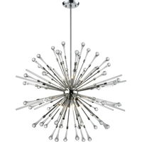 Picture for category DVI Lighting DVP26050CH Pendants Chrome Amiens