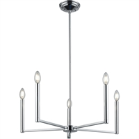 Picture for category DVI Lighting DVP26225CH Chandeliers Chrome Menin Road