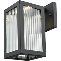 Picture for category DVI Lighting DVP26970BK-RI Wall Sconces Black Bishop