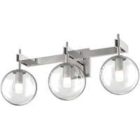 Picture for category DVI Lighting DVP27043CH-CL Bath Lighting Chrome Courcelette