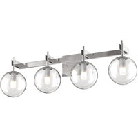 Picture for category DVI Lighting DVP27044CH-CL Bath Lighting Chrome Courcelette