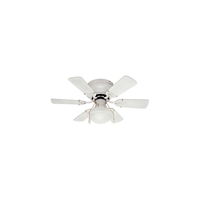 Picture for category Canarm CF3230611S Indoor Ceiling Fans White Steel/Copper Wire/Aluminum Diecast/Zinc Diecast/Glass/Fiber Blade/Cotton/Ceramic Twister