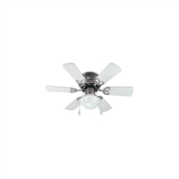 Picture for category Canarm CF3230651S Indoor Ceiling Fans Brushed Pewter Steel/Copper Wire/Aluminum Diecast/Zinc Diecast/Glass/Fiber Blade/Cotton/Ceramic Twister