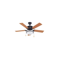 Picture for category Canarm CF42AUG5ORB Indoor Ceiling Fans Oil Rubbed Bronze Steel/Copper Wire/Aluminum Diecast/Zinc Diecast Augusta