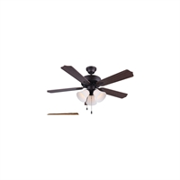Picture for category Canarm CF42RUE5RA Indoor Ceiling Fans Rubbed Antique Bronze Rue