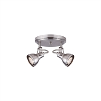 Picture for category Canarm ICW622A02BN10 Track Lighting Brushed Nickel Polo