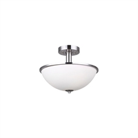 Picture for category Canarm ISF370A03BN Semi Flush Brushed Nickel Hampton
