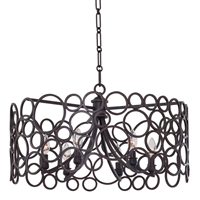 Picture for category Kalco Lighting 2761HB Pendants Heirloom Bronze Ashbourne